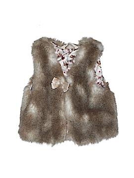 H&M Faux Fur Vest Size 6 - 7