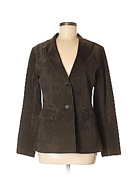 Saks Fifth Avenue Leather Jacket Size 8