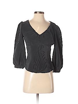 Mayle 3/4 Sleeve Silk Top Size 4