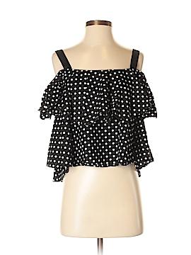 Zara Basic Short Sleeve Blouse Size S
