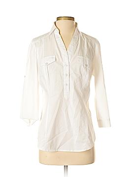 New York & Company Long Sleeve Blouse Size M