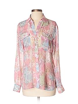 Ellen Tracy Long Sleeve Button-Down Shirt Size XS