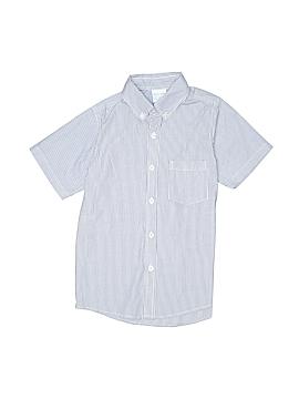 Remember Nguyen Short Sleeve Button-Down Shirt Size 6