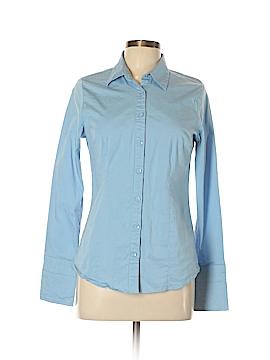Doublju Long Sleeve Button-Down Shirt Size 1X (Plus)