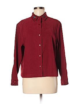 Amanda Smith Long Sleeve Button-Down Shirt Size 12