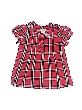 Arizona Jean Company Short Sleeve Button-Down Shirt Size 12 mo