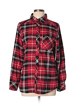 Ci Sono Long Sleeve Button-Down Shirt Size L