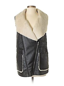 Forever 21 Faux Fur Vest Size M