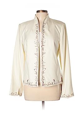 Due Per Due Silk Blazer Size 12