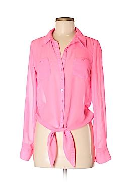 L.e.i. Long Sleeve Blouse Size M