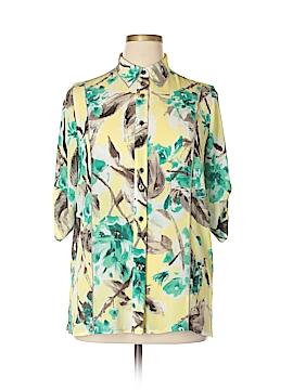TanJay 3/4 Sleeve Blouse Size 12