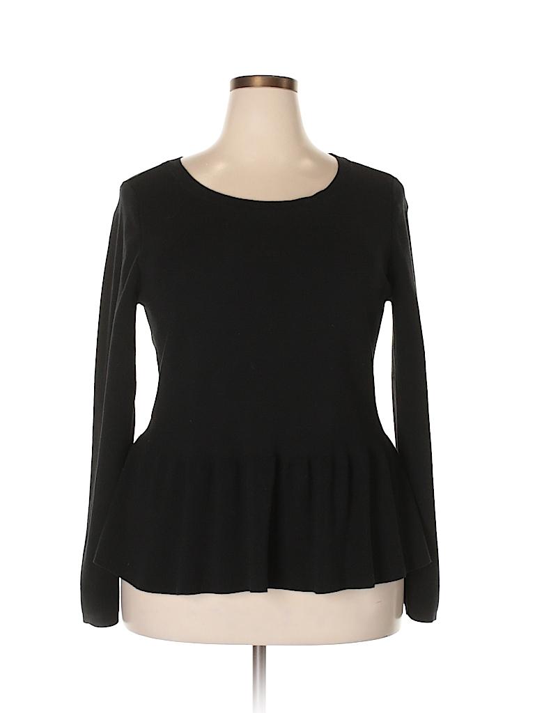 Ann Taylor Women Silk Pullover Sweater Size XXL