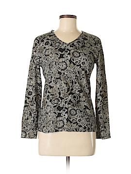 Karen Scott Long Sleeve T-Shirt Size S