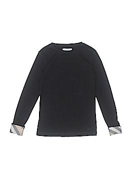Burberry Long Sleeve T-Shirt Size 10