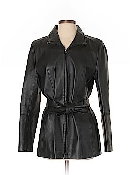 Croft & Barrow Leather Jacket Size S