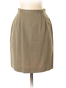 Anne Klein Wool Skirt Size 4 (Petite)