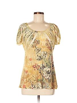 B.l.e.u. Short Sleeve Blouse Size M