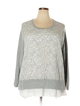 Simply Vera Vera Wang Pullover Sweater Size 1X (Plus)