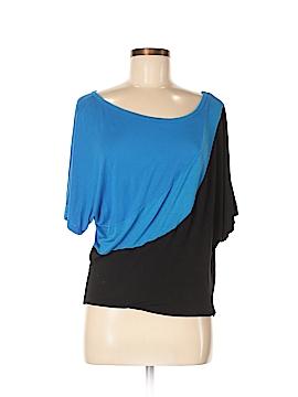 Inc Denim Short Sleeve Top Size M