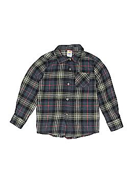 Healthtex Long Sleeve Button-Down Shirt Size 5T