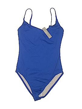 J. Crew One Piece Swimsuit Size 8 (Tall)