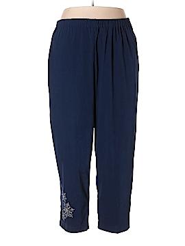 The Quacker Factory Casual Pants Size 3X (Plus)