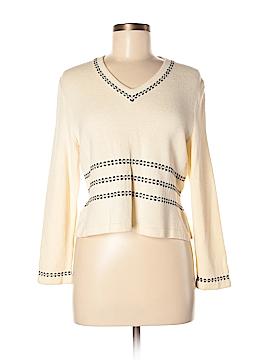 St. John Sport Wool Pullover Sweater Size M