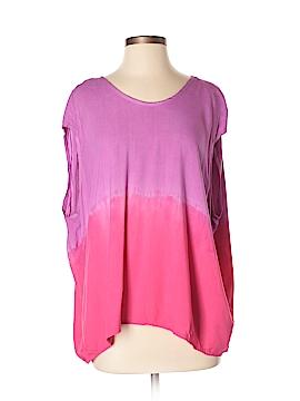 ALTERNATIVE Short Sleeve Blouse Size S