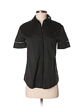 All Saints Short Sleeve Button-Down Shirt Size 0