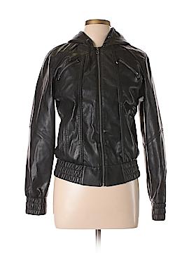 Sound & Matter Faux Leather Jacket Size L
