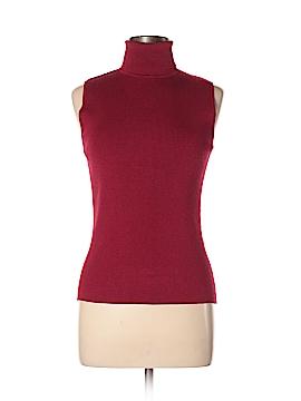 August Silk Sleeveless Top Size L