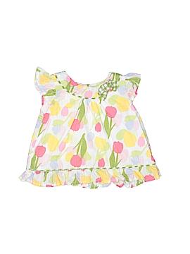 Crazy 8 Short Sleeve Blouse Size 3-6 mo
