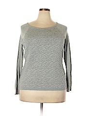 Como Vintage Women Pullover Sweater Size 1X (Plus)