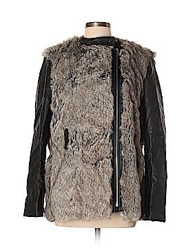 Fc Jeans by Fenney Caro Faux Fur Jacket Size 10