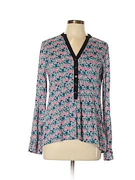 Vanessa Virginia Long Sleeve Button-Down Shirt Size 4