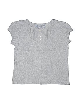 Faded Glory Short Sleeve Henley Size 14 - 16 Plus (Plus)
