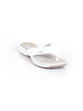 Clarks Flip Flops Size 7