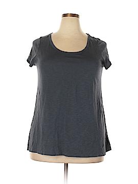 Cynthia Rowley for T.J. Maxx Short Sleeve T-Shirt Size 1X (Plus)