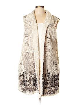 Cover Charge Faux Fur Vest Size L