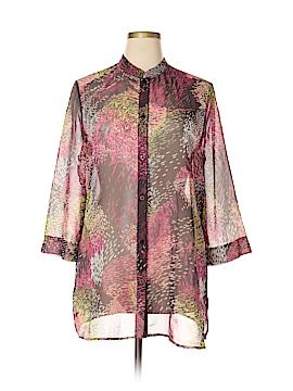 Liz Baker 3/4 Sleeve Blouse Size XL