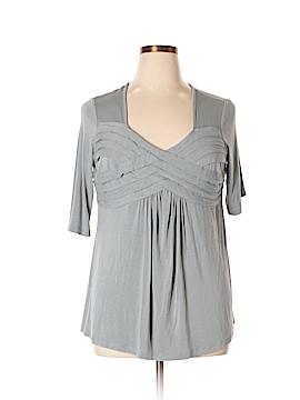 Jessica London Short Sleeve Top Size 12