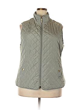 Adrienne Vittadini Vest Size 2X (Plus)