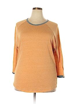 Lularoe 3/4 Sleeve T-Shirt Size 3X (Plus)