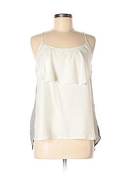 LA Made Sleeveless Silk Top Size M