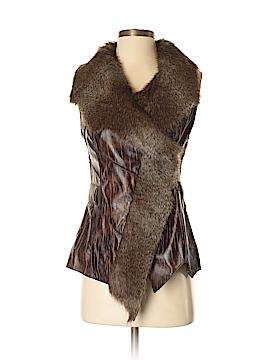 Sisters Faux Fur Vest Size S