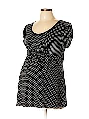 Agenda Women Short Sleeve Top Size XL