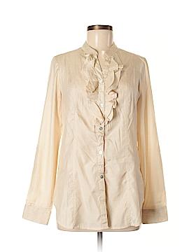 Adiva Long Sleeve Blouse Size M