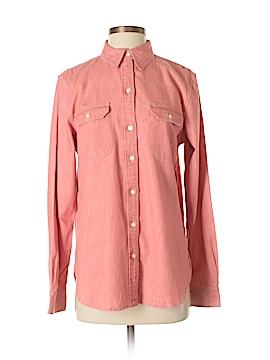 Lauren Jeans Co. Long Sleeve Button-Down Shirt Size M