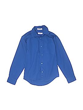 IZOD Long Sleeve Button-Down Shirt Size 10