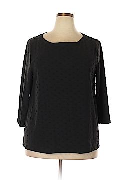 Ann Taylor LOFT 3/4 Sleeve Top Size XXL